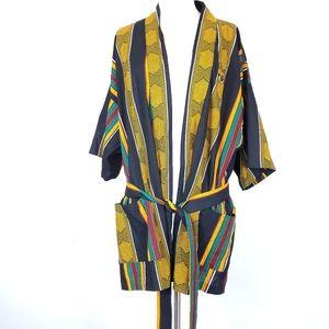 The Bwana kimonos buho Stiped BOHO Navajo